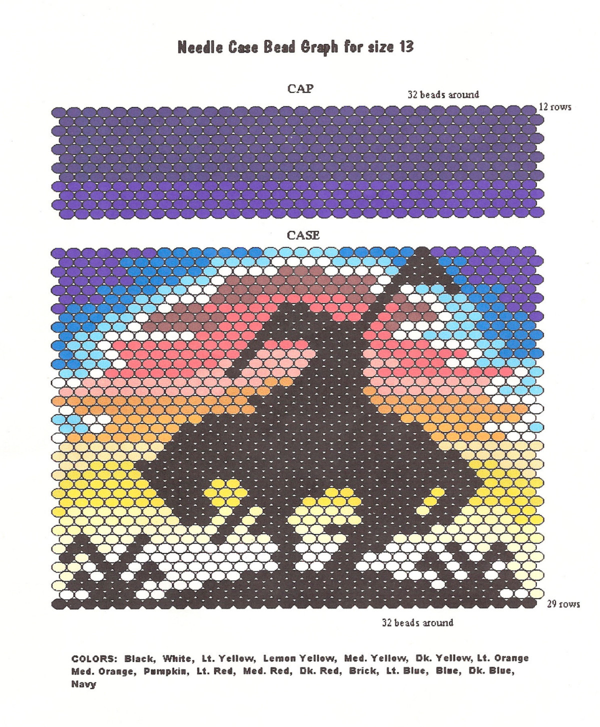 Craft Supplies, Free Beading Patterns. Earth Mother Crafts - Free Printable Bead Loom Patterns