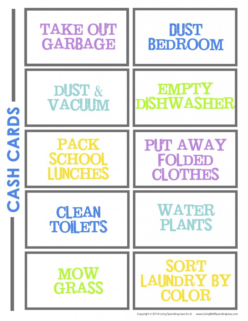 Create A Chore Chart That Works | Free Chore Charts For Kids - Free Printable Chore Chart Ideas