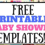 Create And Edit Free Printable Baby Shower Game Templates   Youtube   Free Printable Templates For Baby Shower Games