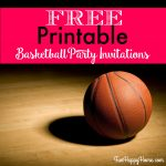 Creating An Interesting Birthday Invitation Templates For Children – Free Printable Basketball Cards