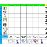 Creative Chore Chart Ideas For Kids — Stopqatarnow Design : Free   Free Printable Chore Chart Ideas