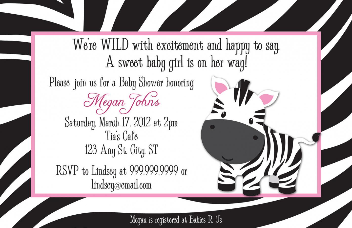 Creative Free Printable Animal Print Birthday Invitations - Free Printable Animal Print Birthday Invitations