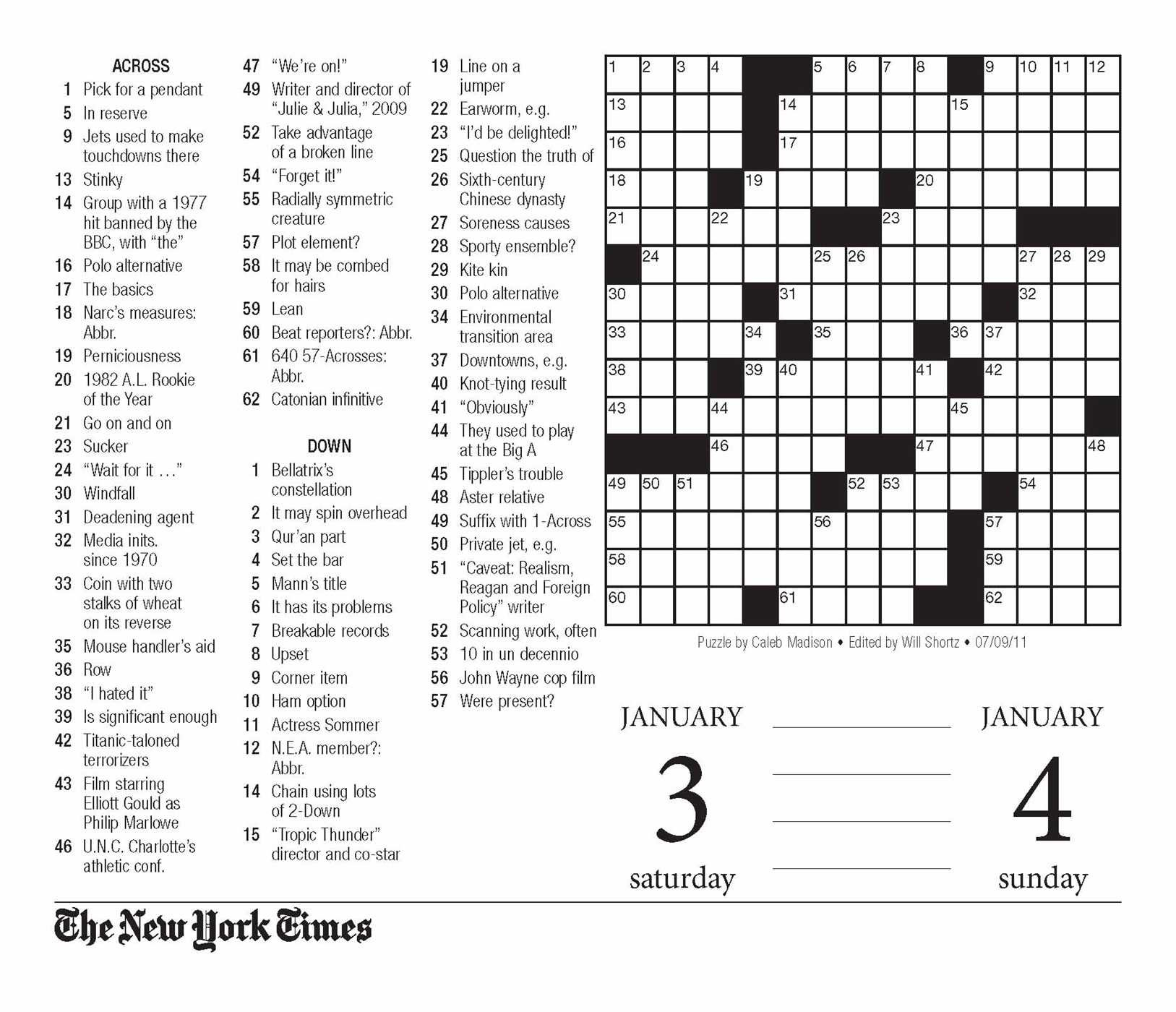 Crossword Puzzle Printable Ny Times Crosswords ~ Themarketonholly - New York Times Crossword Printable Free