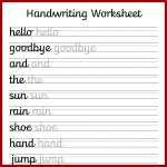 Cursive Handwriting Worksheets – Free Printable! ⋆ Mama Geek   Free Printable Writing Sheets