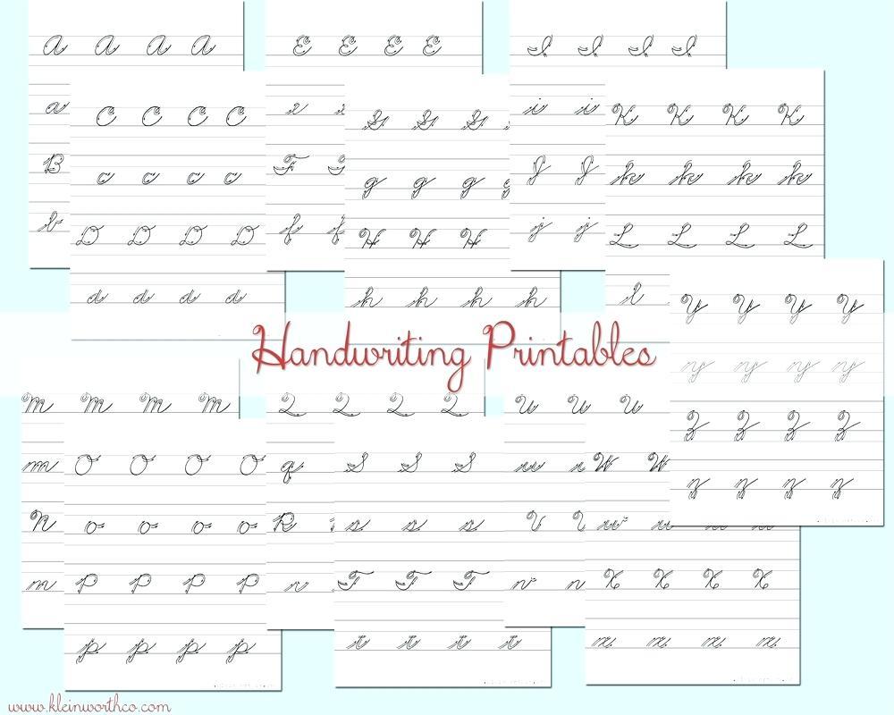 Cursive Writing Worksheets For Left Handed Letterion Pdf Surprising - Free Printable Left Handed Worksheets