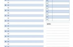 Free Printable Daily Appointment Planner Pages