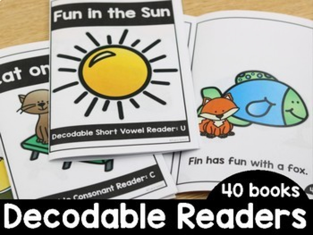 Decodable Readers With Digraphs Teaching Resources | Teachers Pay - Free Printable Decodable Books For Kindergarten
