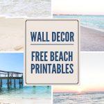 Decorating With Beach Photos   Free Printable Beach Wall Art   Free Printable Beach Pictures