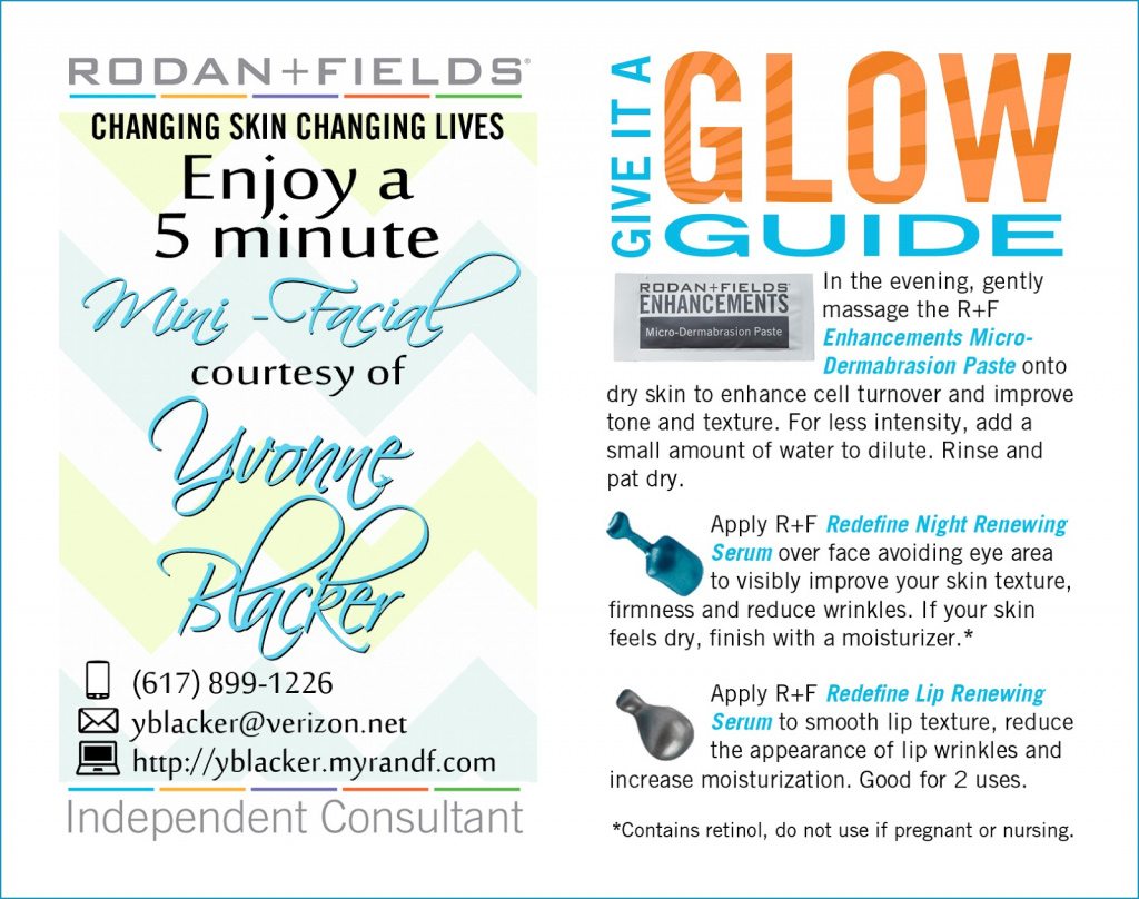 Design Vignettes: A Beautiful Before + After Giveaway! Intended For - Rodan And Fields Mini Facial Instructions Printable Free