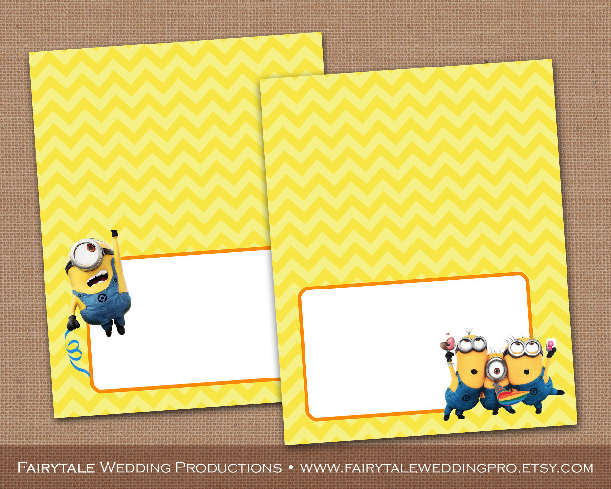 Despicable Me Minions Birthday Party Food Tent Cards Food | Etsy - Free Printable Minion Food Labels