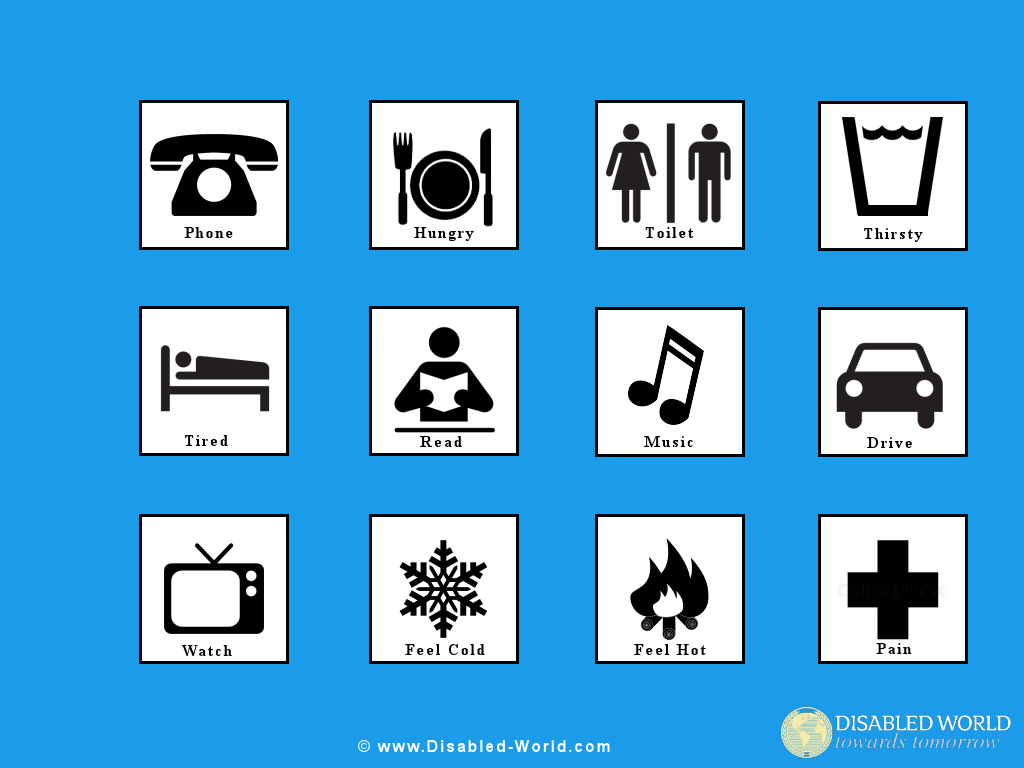 Disability Pictures Clipart, Printables, Wallpaper, Signs And - Free Printable Widgit Symbols