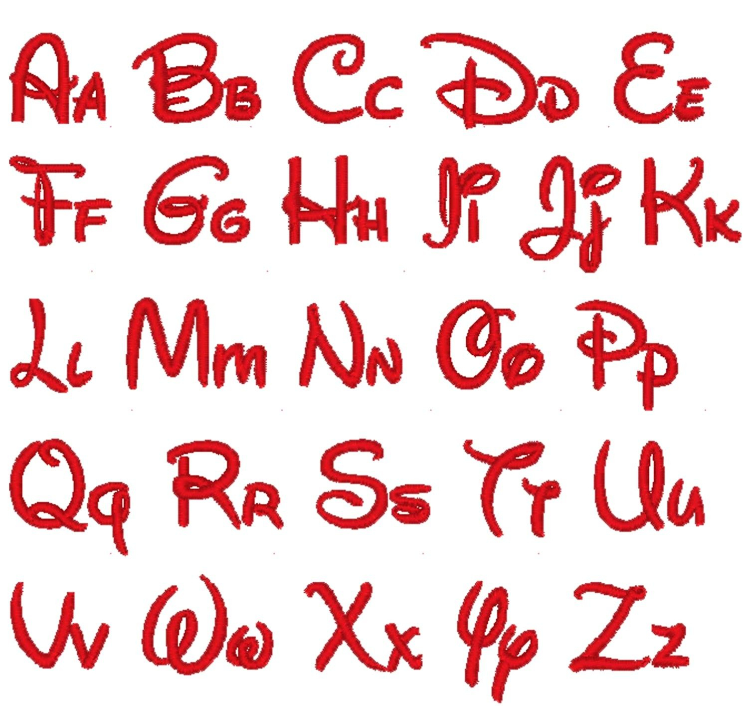 Disney Mickey Mouse Fonts 178078 Free Printable Letter Stencils - Free Printable Disney Font Stencils