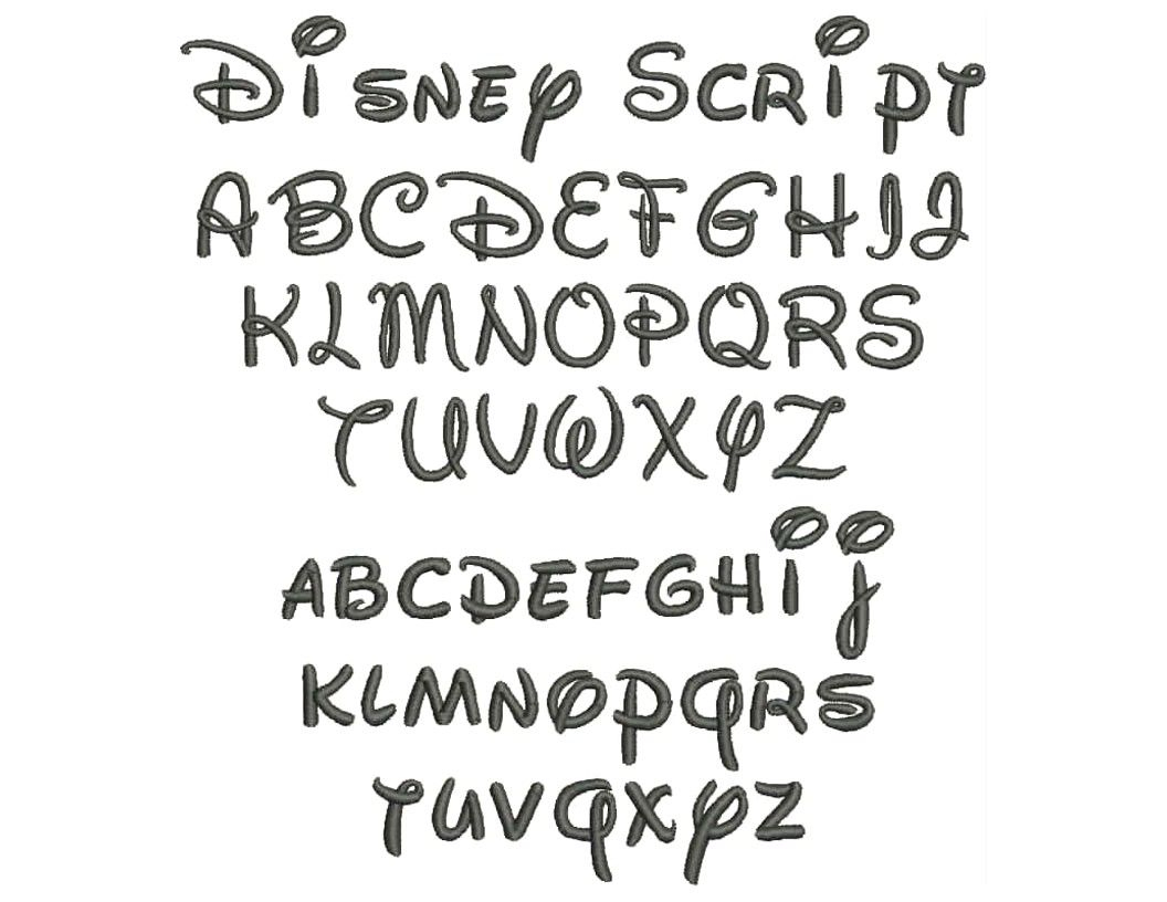 Disney Script Font Free 178081 Printable Letter Stencils | Lettering - Free Printable Disney Font Stencils