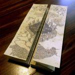 Diy Harry Potter Marauders Map Tutorial And Printable From   Free Printable Marauders Map