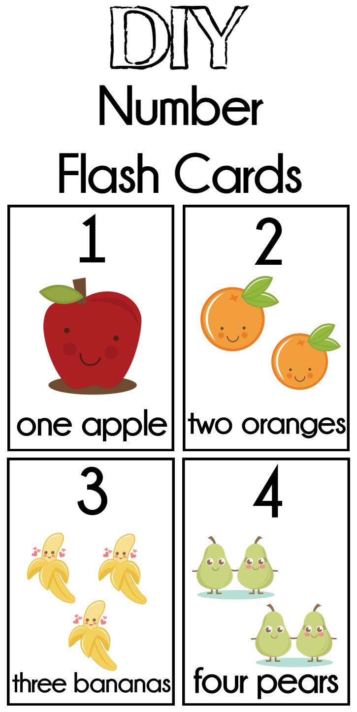 Diy Number Flash Cards Free Printable - Extreme Couponing Mom - Free Printable Flash Cards