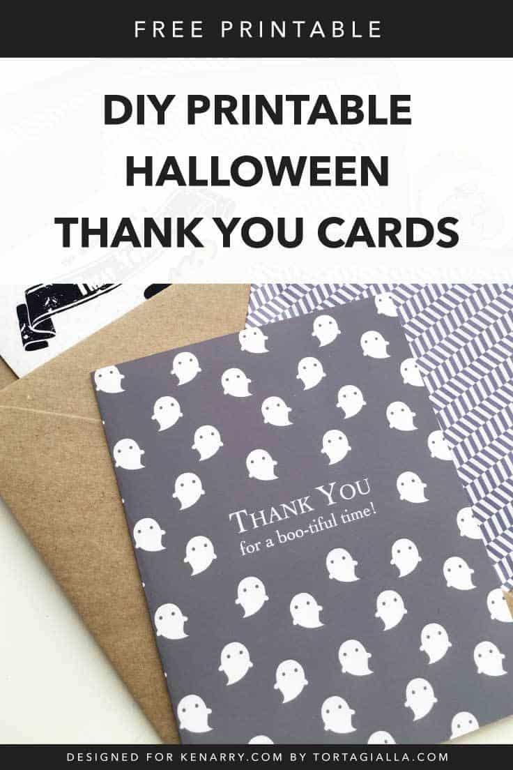 Diy Printable Halloween Cards | Kenarry - Free Printable Halloween Cards