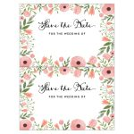 Diy Save The Date Postcard Free Printable | Mountain Modern Life   Free Printable Save The Date Invitation Templates