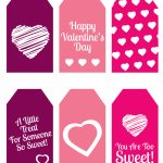 Diy Valentine's Day Gift: Mini Candy Boxes & Printable Gift Tags – Free Printable Valentine Tags