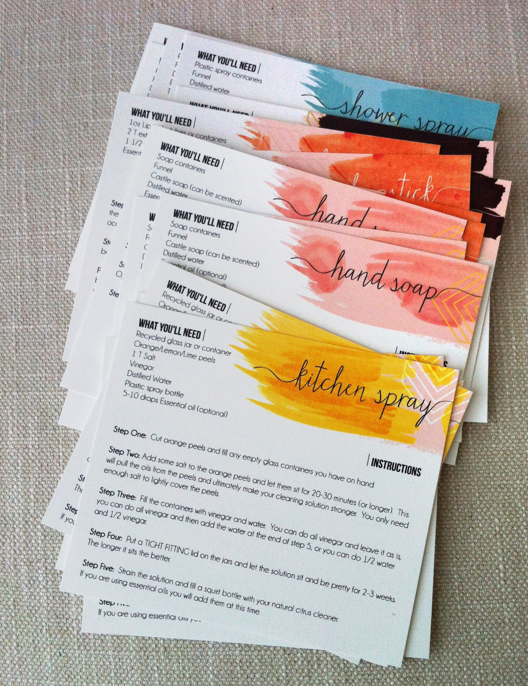 Diyproduct-Recipe-Cards | Aromatherapy | Essential Oils, Yl - Free Printable Doterra Sample Cards