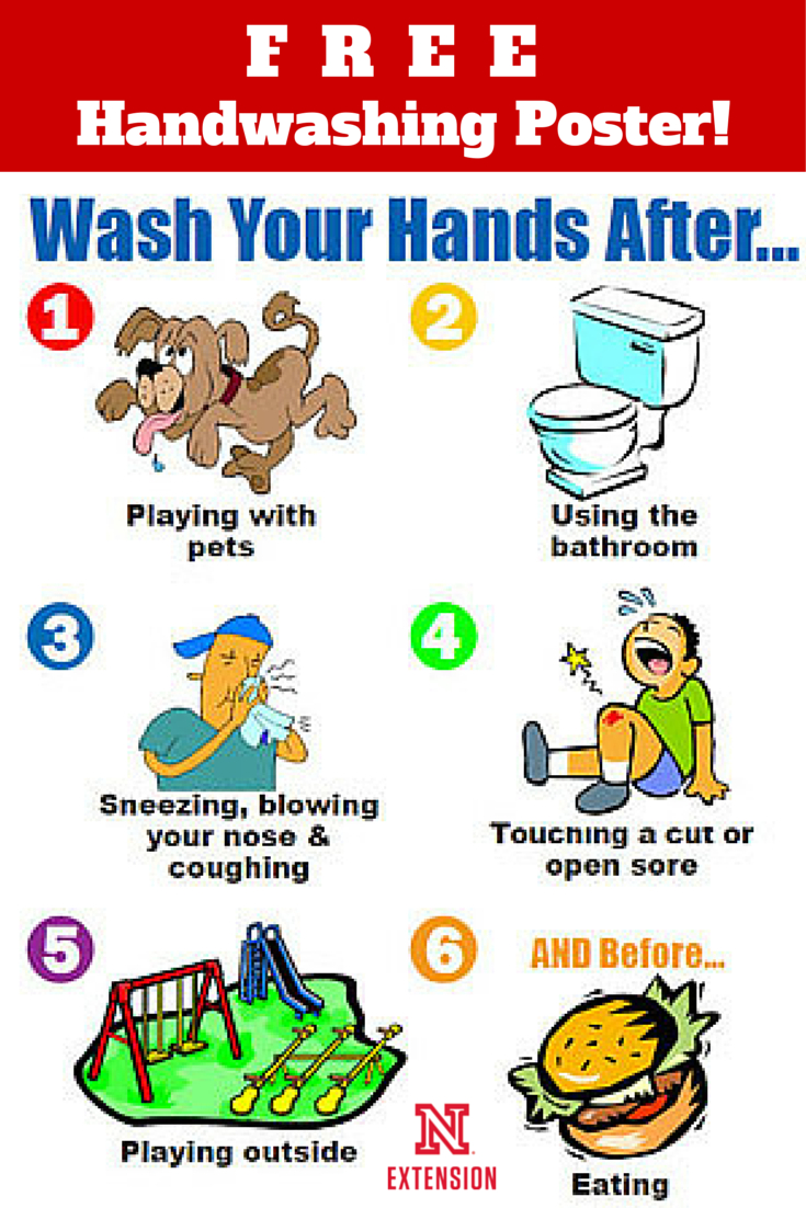 "Download A Free 8-1/2 X 11"" Handwashing Poster 