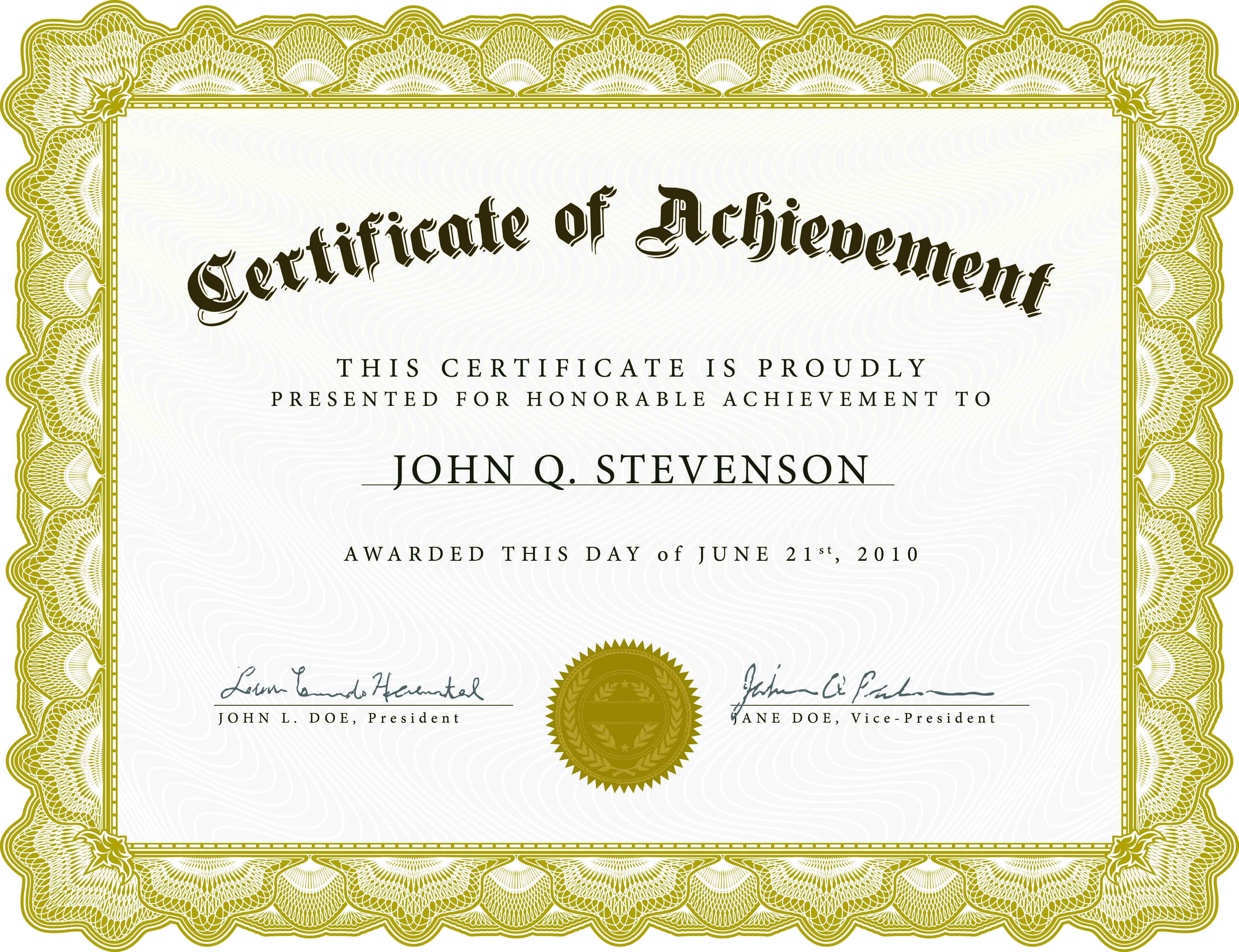 Download Blank Certificate Template X3Hr9Dto | St. Gabriel's Youth - Free Printable Blank Certificates Of Achievement