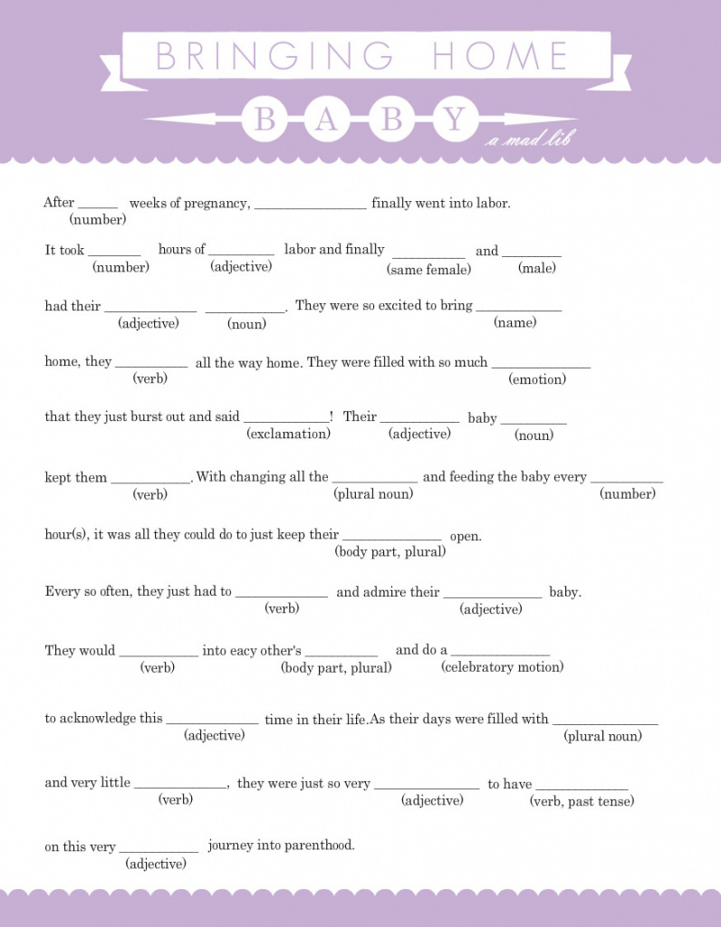 Download Mad Libs For Baby Shower   Designista For Baby Shower Mad - Baby Shower Mad Libs Printable Free