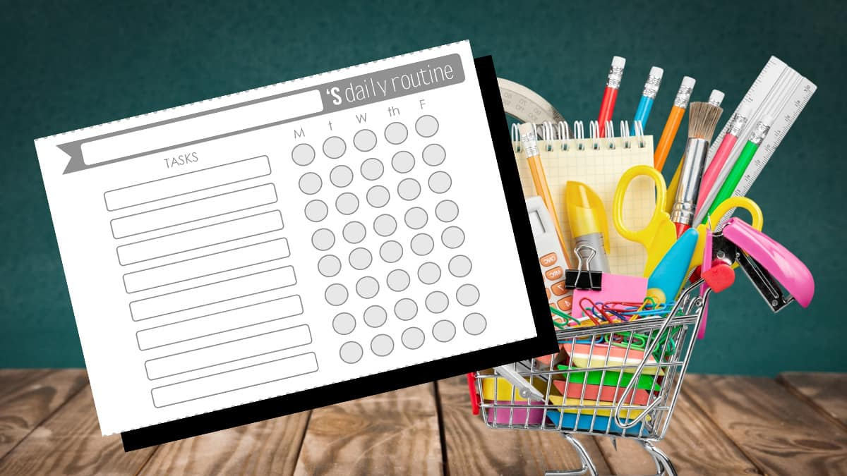 Download Our Free Printable To-Do List Templates For Back-To-School - Free Printable Kids To Do List
