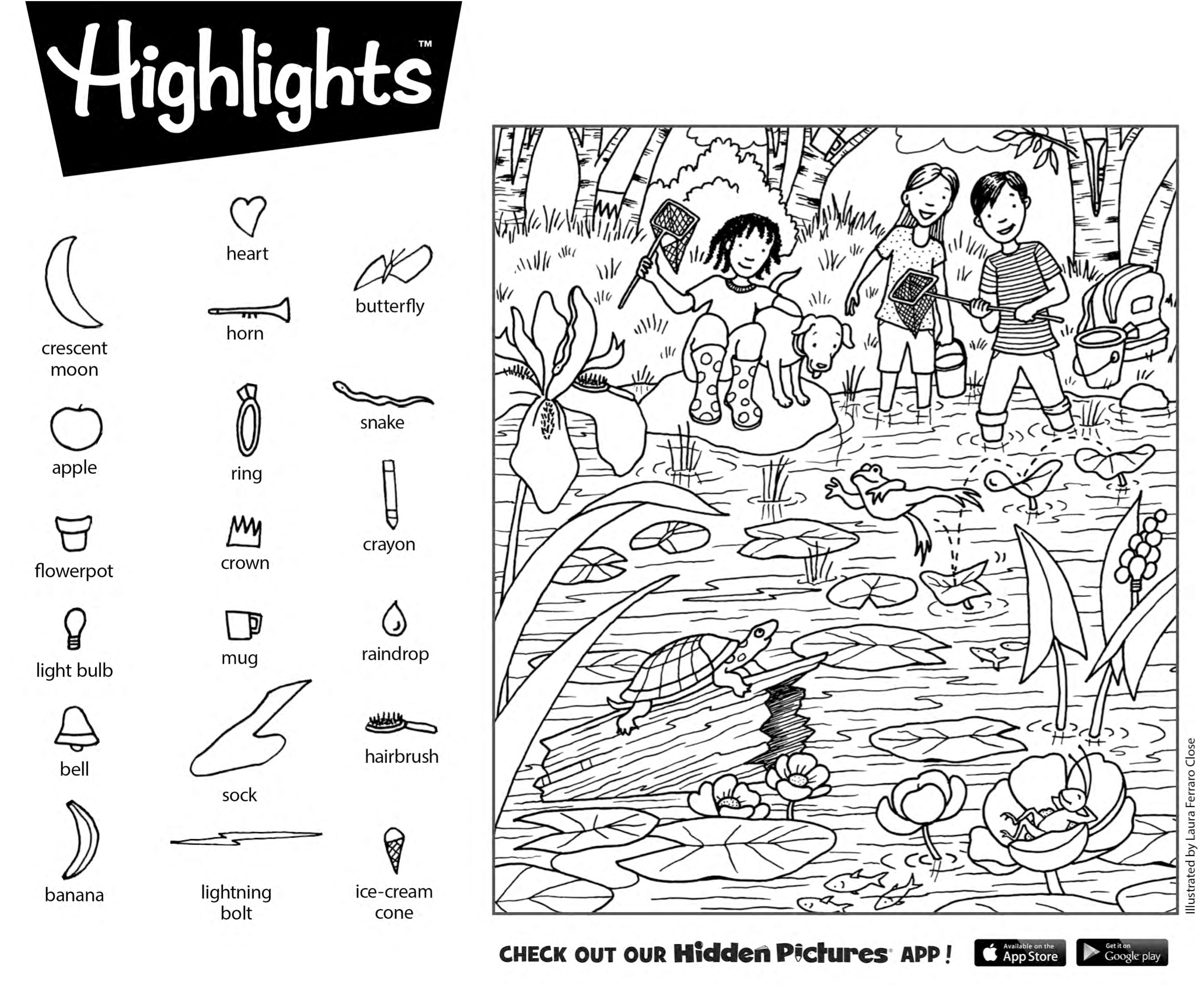 Download This Free Printable Hidden Pictures Puzzle From Highlights - Free Printable Hidden Pictures For Kids