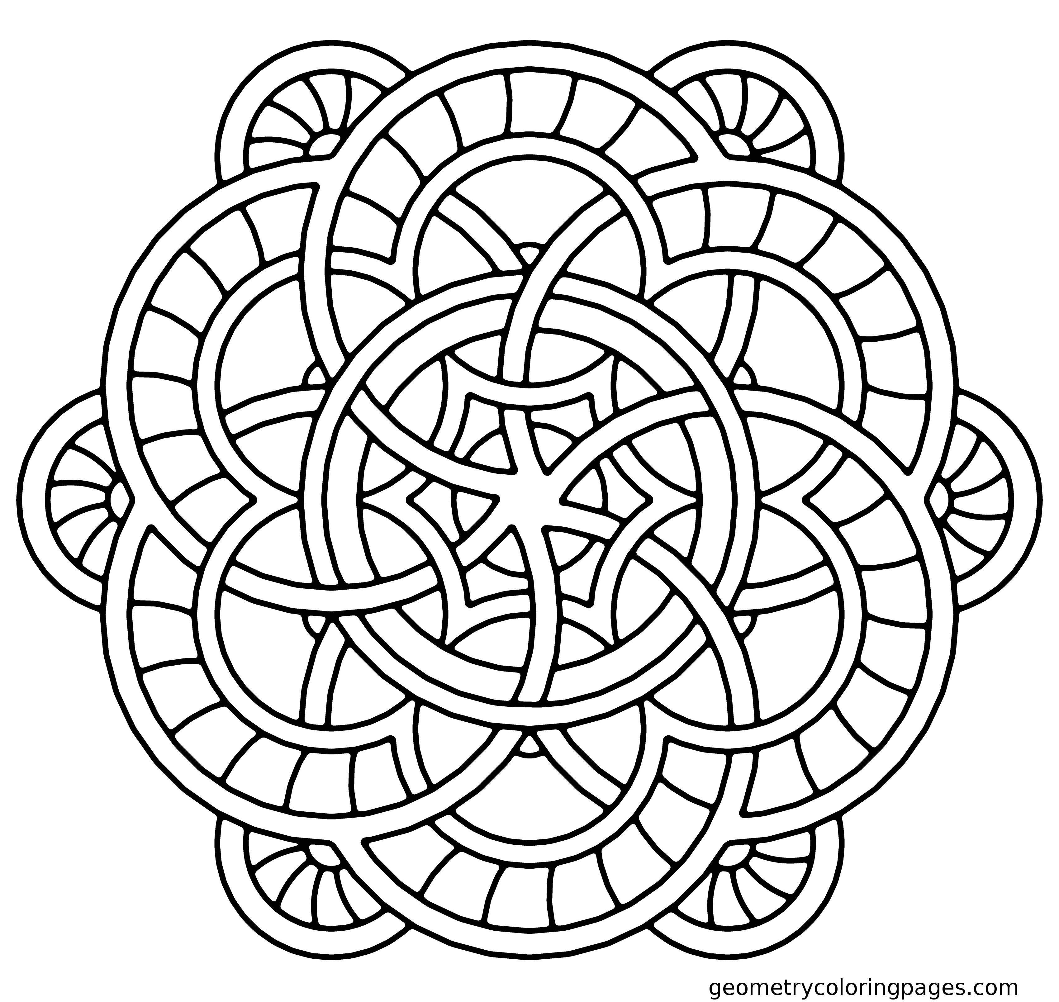 √ Coloring Pages: Mandala Coloring Pages And Book - Free Printable Mandalas Pdf