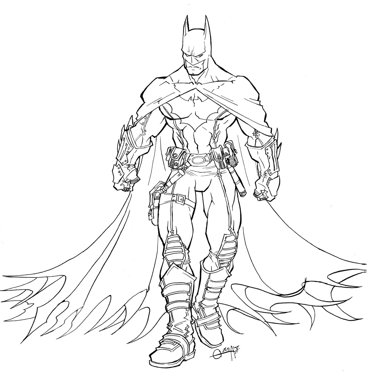 √ Free Printable Batman Coloring Pages For Kids - Free Printable Batman Coloring Pages