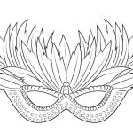 √ Free Printable Mardi Gras Coloring Pages   Free Printable Mardi Gras Masks