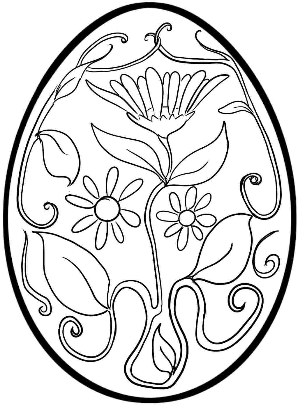 Easter Egg Colouring Pages Free For Kids & Boys # | Easter - Coloring Pages Free Printable Easter