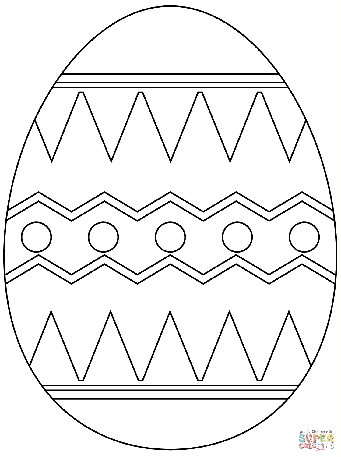 Easter Eggs Coloring Pages   Free Coloring Pages - Free Printable Easter Stuff