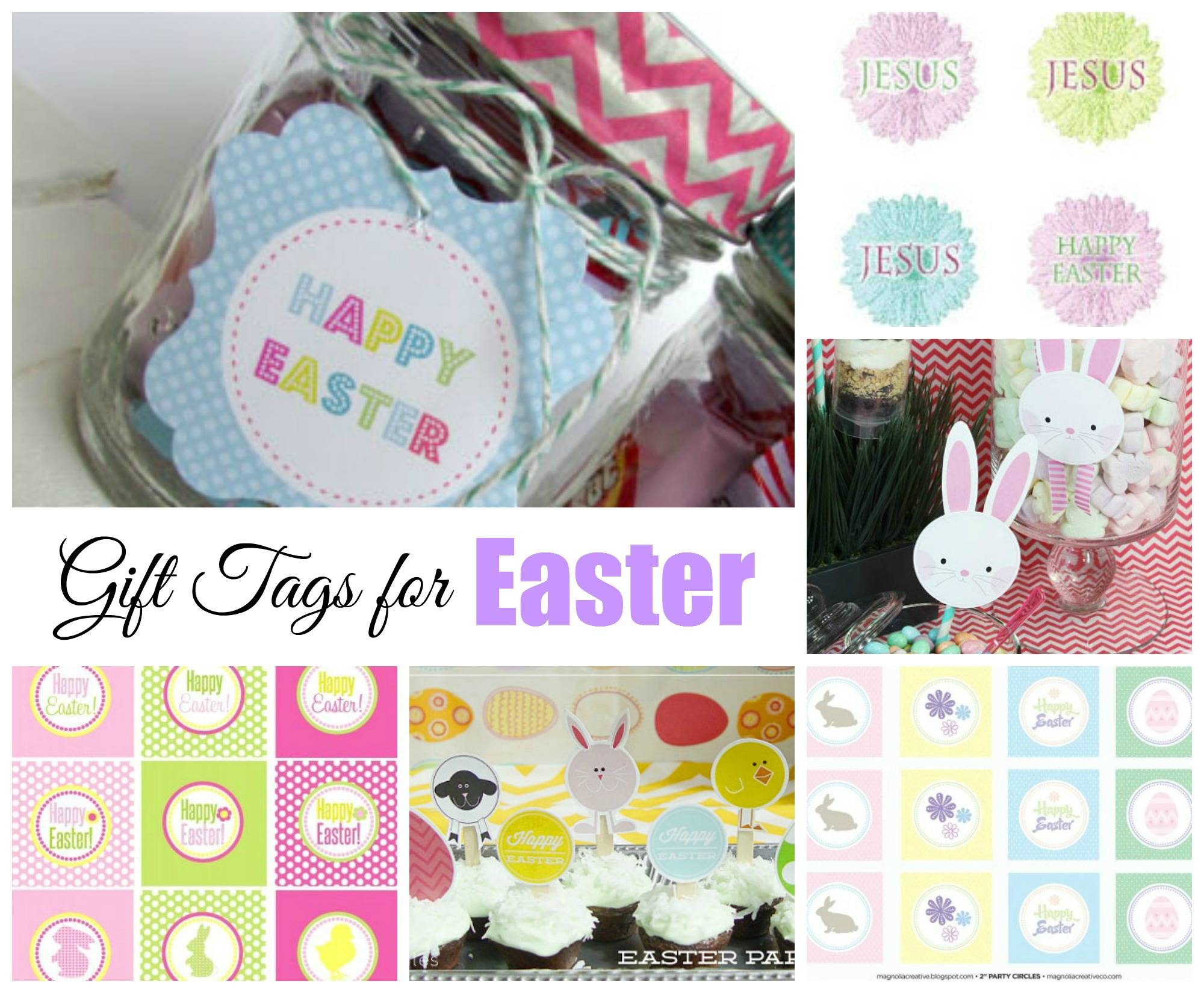 Easter Free Printable Gift Tags   Celebrating Holidays - Free Printable Easter Images
