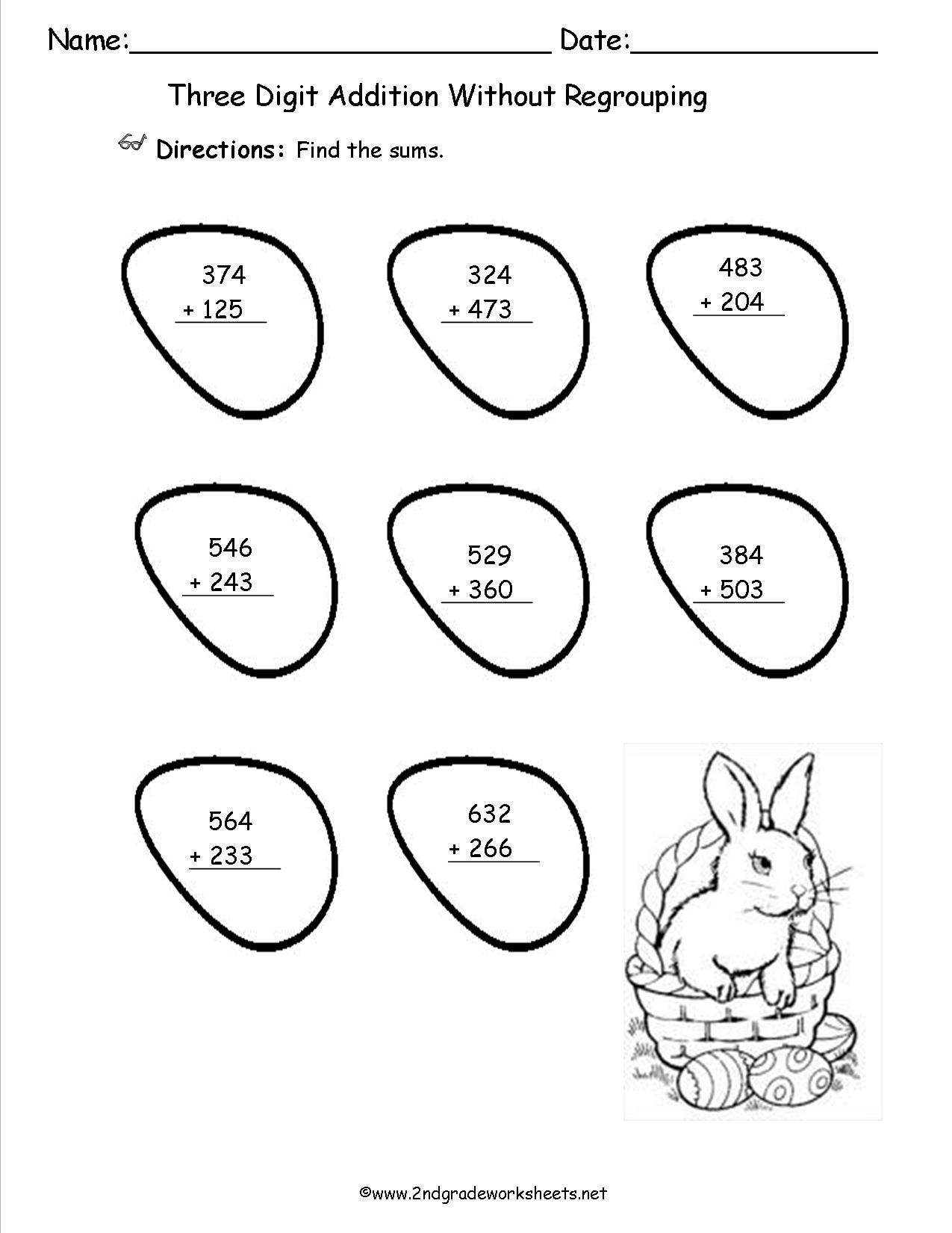 Easter Worksheets And Printouts - Free Printable Easter Worksheets For 3Rd Grade