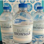 Easy Diy    Free Printable Melted Snowman Water Bottle Labels   Christmas Water Bottle Labels Free Printable