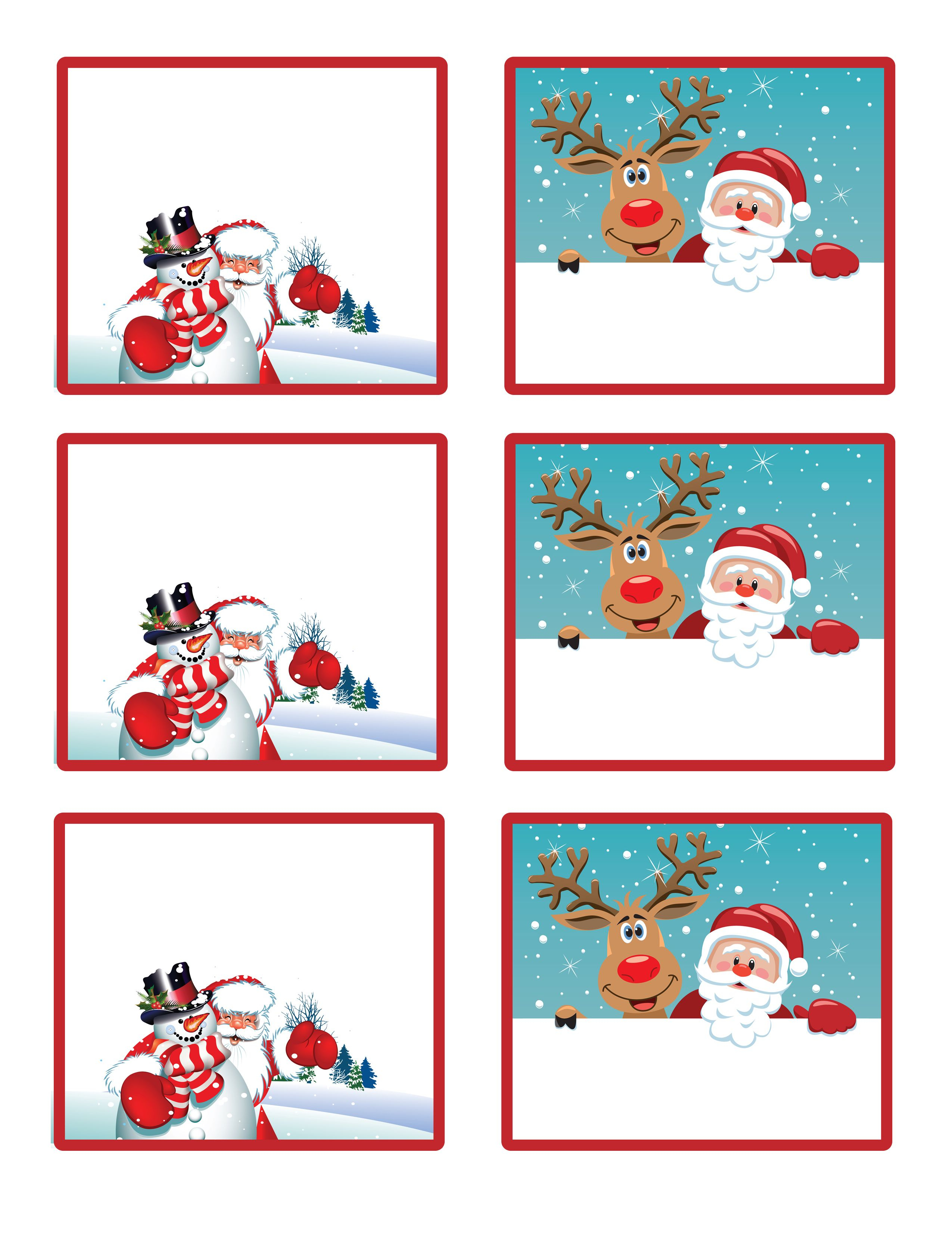 Easy Free Letter From Santa Magical Package | Christmas | Christmas - Free Printable Gift Name Tags