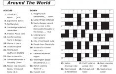 Printable Newspaper Crossword Puzzles For Free