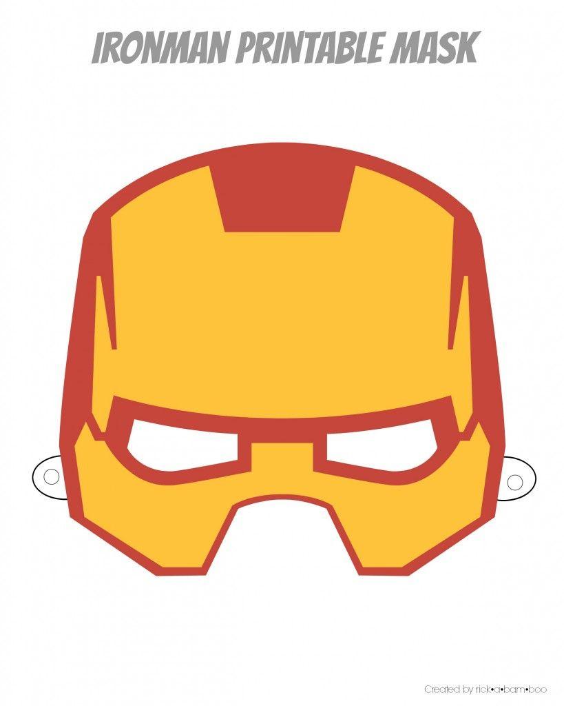 Easy Superhero Mask Template (Free!!) | Halloween Crafts | Pinterest - Superman Mask Printable Free