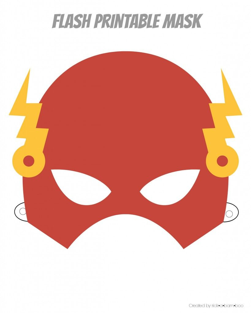 Easy Superhero Mask Template (Free!!) | Paper Masks | Superhero - Free Printable Ironman Mask