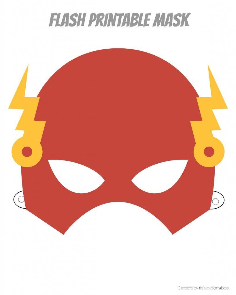 Easy Superhero Mask Template (Free!!) | Paper Masks | Superhero Mask - Superman Mask Printable Free