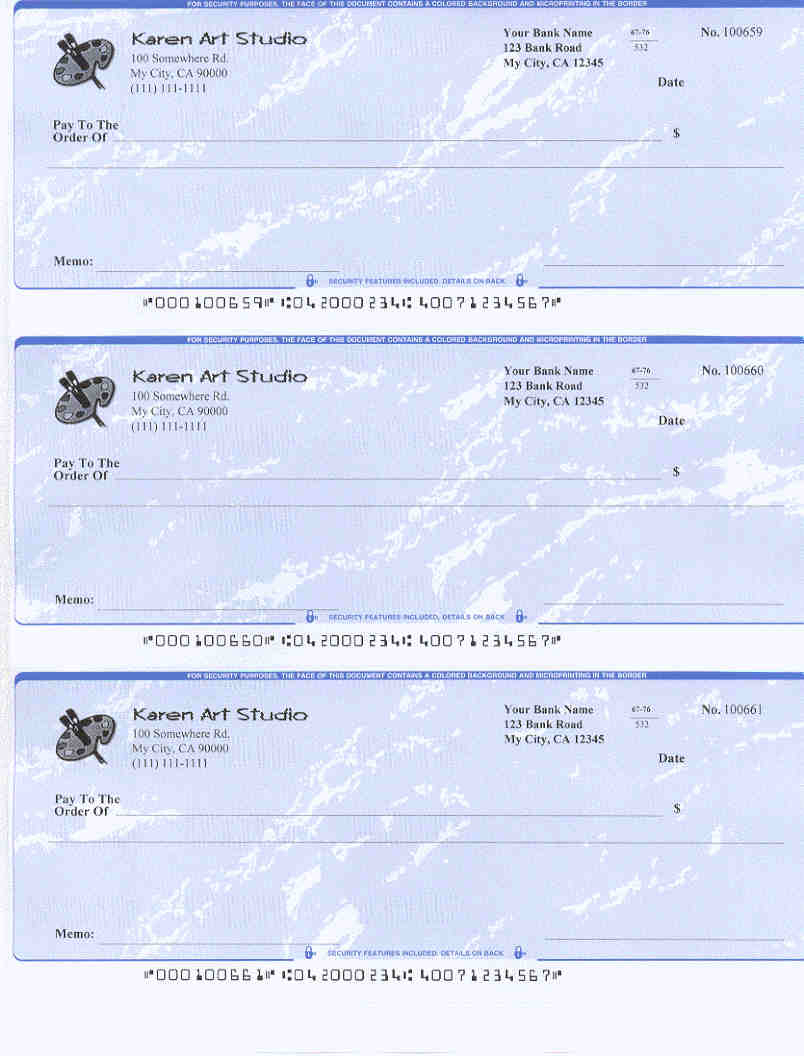 Easy-To-Use Check Writing And Printing Software. Free Offer Available. - Free Printable Checks