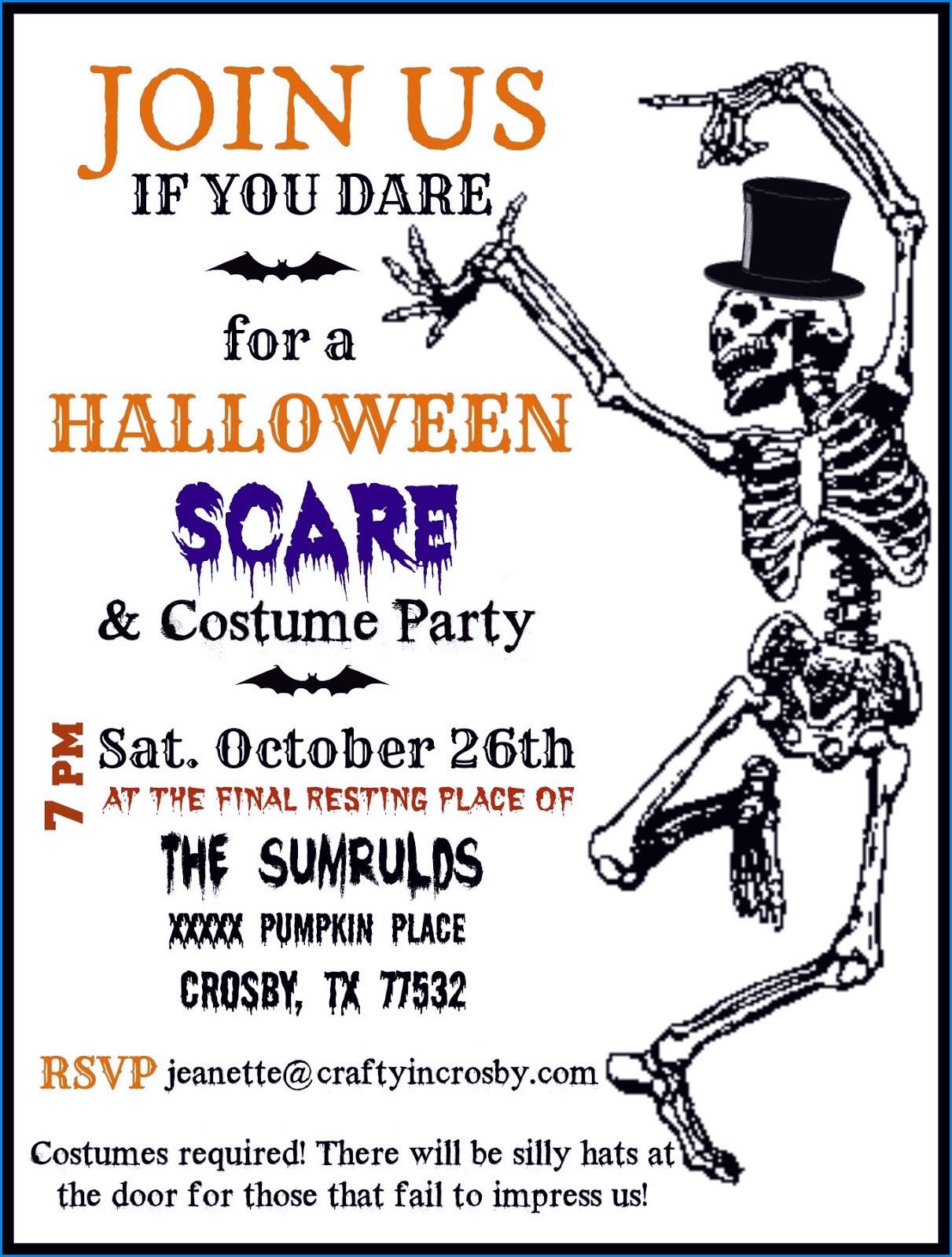 Elegant Free Printable Halloween Invitations For Adults – Sarokapro - Free Printable Halloween Invitations For Adults