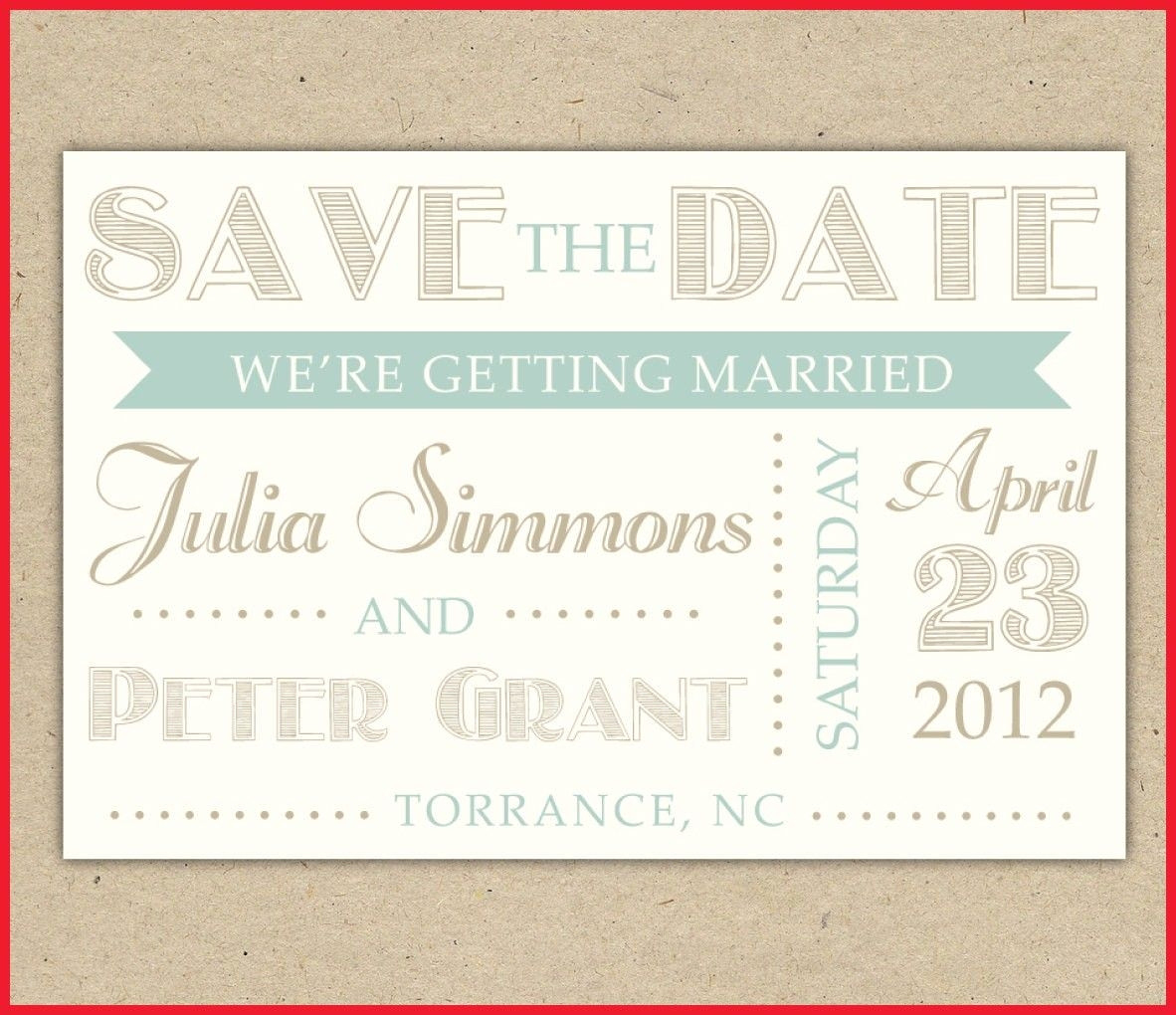 Elegant Free Printable Save The Date Invitation Templates Image Of - Free Printable Save The Date Invitation Templates