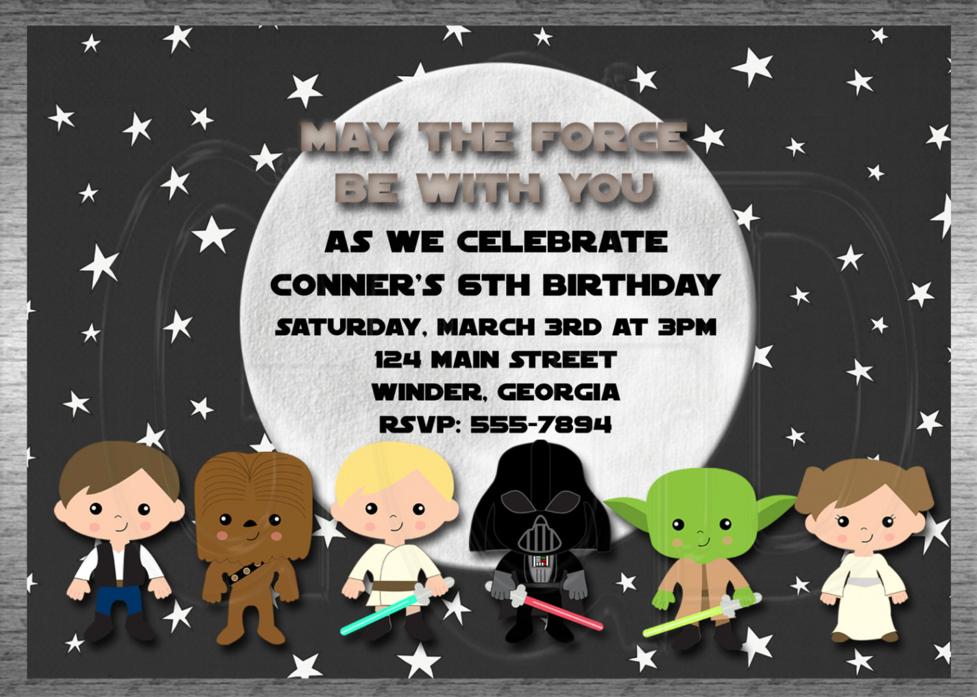 Elegantcustomize 1000 Free Printable Star Wars Baby Shower Invites - Free Printable Star Wars Baby Shower Invites