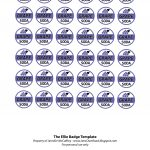 Ellie Badge Free Printable. These Would Make Great Charms For Party   Free Printable Badges