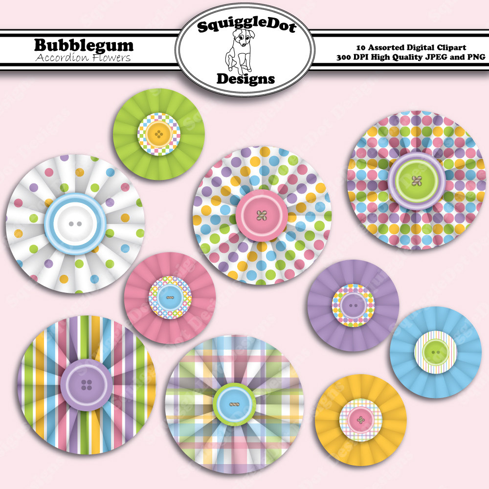 Embellishment Scrapbook Clipart - Free Printable Scrapbook Decorations