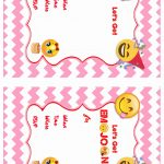 Emoji Birthday Invitations | Birthday Printable   Free Printable Emoji B Day Invites