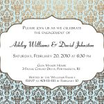 Engagement Party Invitations Templates |  Invitation Templates   Free Printable Engagement Party Invitations