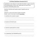 Englishlinx | Capitalization Worksheets   Free Printable Worksheets For Punctuation And Capitalization